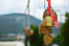 Bells dans le temple thaï Photos stock