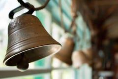 Bells en laiton image stock