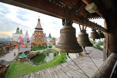 Bells in entertainment center Kremlin Royalty Free Stock Photography