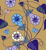 Bells flowers royalty free illustration