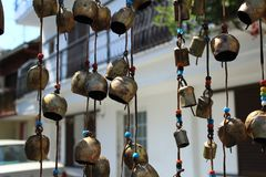 Bells. Hanging found in Thassos Royalty Free Stock Photos