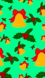 Bells and Holly stock illustration