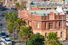 he Bells Hotel historic building in Woolloomooloo district in Sydney royalty free stock photos