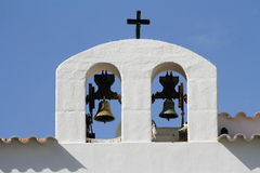 Bells in Ibiza Royalty Free Stock Photos