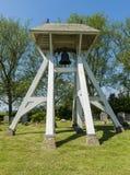 Bells, Klokkenstoel in Mirns in Friesland Stock Images