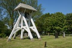 Bells, Klokkenstoel in Mirns in Friesland Royalty Free Stock Image