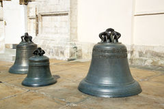 Bells in the Kremlin in Moscow Stock Photography
