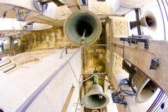Bells of La Giralda in Seville Stock Image