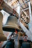 Bells mechanism of Cathedral of Mechelen Stock Image