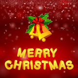 Bells merry christmas Royalty Free Stock Photo