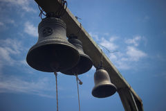 Bells. By the monastery Jvari near Mtskheta, Georgia Royalty Free Stock Photo