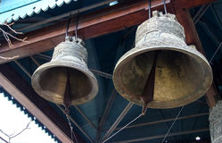 Bells in monastery Royalty Free Stock Photography