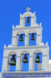 Bells of Oia, Santorini Royalty Free Stock Photos