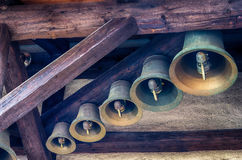 Bells of old carillon Royalty Free Stock Photo