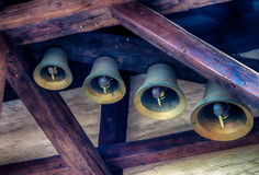 Bells of old carillon Stock Photos