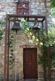 Bells of Old Church House. In Chios,Greece Royalty Free Stock Photos
