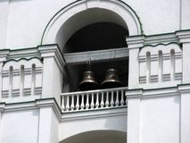 Bells in the Orthodox Cathedral Stock Photos