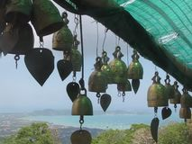 Bells in Phuket, Thailand stock video footage