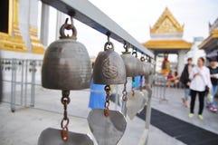 Bells of reincarnation or Samsara in a pagoda in Thailand. Bells of reincarnation or Samsara in a pagoda Royalty Free Stock Image