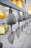 Bells of reincarnation or Samsara in a pagoda in Thailand. Bells of reincarnation or Samsara in a pagoda Stock Photos