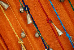 Bells on ropes Stock Image