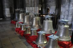 Bells of Rouen cathedral France Stock Photography