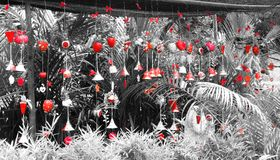 Bells rouges image stock