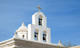 Bells at San Xavier del Bac Mission, Arizona Royalty Free Stock Photography