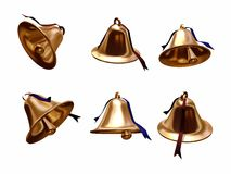 Bells set Stock Images