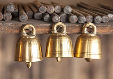 Bells Shwedagon Myanmar Royalty Free Stock Images