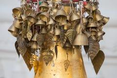 Bells in Shwedagon Pagoda . Yangon, Myanmar. Stock Images