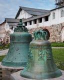 Bells in Spaso-Preobrazhensky Solovetsky monastery Stock Photos