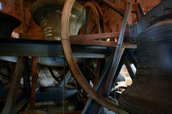 The bells of St Matthew-in-the-City Auckland - New Zealand Royalty Free Stock Image
