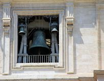 The bells of St. Peters Basilica Stock Photos