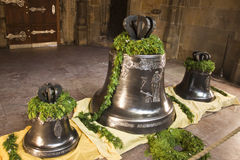 Bells in St. Vitus cathedral Royalty Free Stock Photo