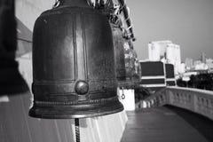 Bells sur la montagne de temple Images libres de droits