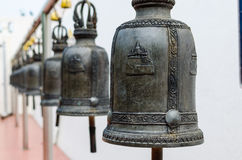 Bells in the temple Stock Photography