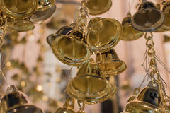 Bells in temple Stock Photography
