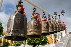 Bells at Temples stock image