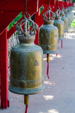 The bells in thai temple. On Thailand Royalty Free Stock Image