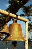 Bells under palms Royalty Free Stock Photo