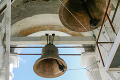 Bells of the Venerable bell tower, Russia, Suzdal stock photos
