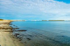 Bellsdownes Islands from Shallow Bay, Gros Morne, National Park, Newfoundland, Canada royalty free stock photos