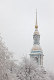 belltower大教堂nikolsky s 库存图片