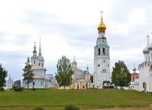 Belltower και ναοί Στοκ φωτογραφία με δικαίωμα ελεύθερης χρήσης
