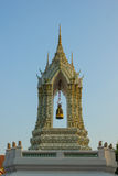 Belltower σε Wat Pho Μπανγκόκ Ταϊλάνδη στοκ φωτογραφίες