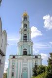 Belltower Τριάδα Lavra του ST Sergius Στοκ φωτογραφία με δικαίωμα ελεύθερης χρήσης