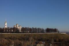Belltower на rampart Стоковое Изображение