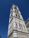 Belltower av Santa Maria del Fiore royaltyfria foton