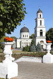 Chisinau Belltower and cathedral royalty free stock photos